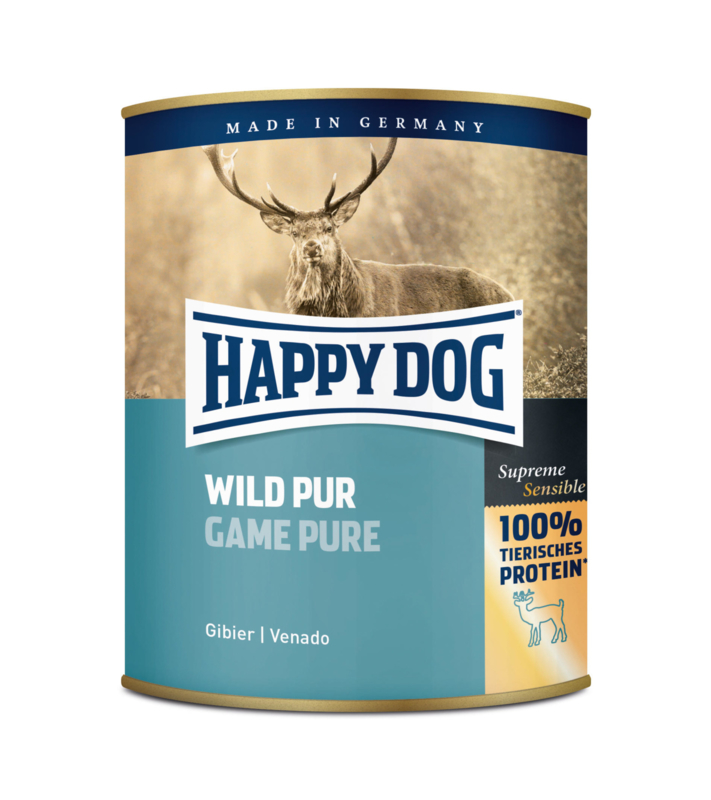 Happy Dog Wild Pur natvoer 400gram