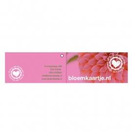 BLD1330 | Bloemkaartje
