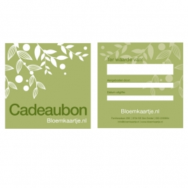 CB1353 | Cadeaubon