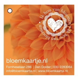 BL1332 | Bloemkaartje