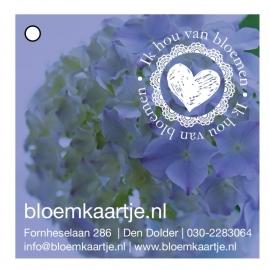 BL1334   Bloemkaartje