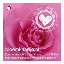 BL1333   Bloemkaartje