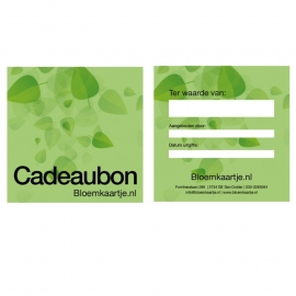 CB1345 | Cadeaubon