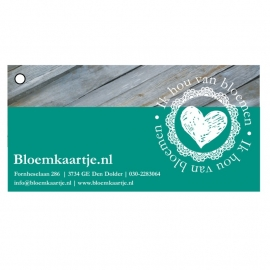 BL1349   Bloemkaartje