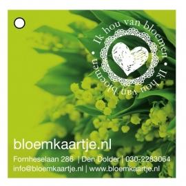 BL1335   Bloemkaartje