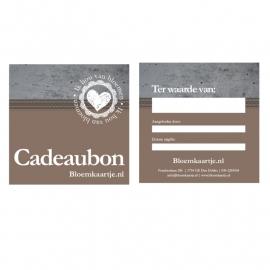 CB1347 | Cadeaubon