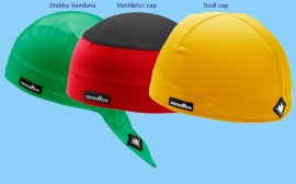 3-Pack SportCaps - Multi kleur