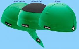 3-Pack SportCaps - Groen