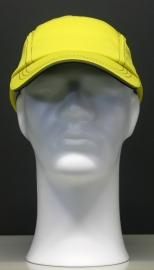 Race Cap - Geel / zwart stiksel