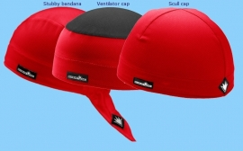 3-Pack SportCaps - Rood