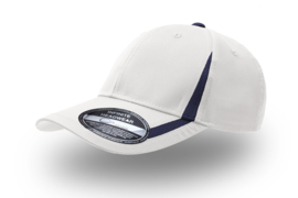 Jogging Cap White - Navy