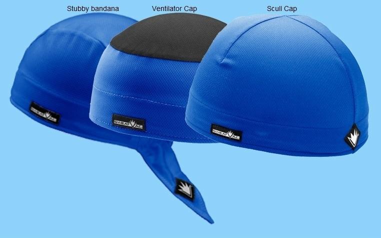 3-Pack SportCaps - Blauw