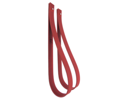 SLING ophanglus 3 cm - maat L - donkerrood (2)