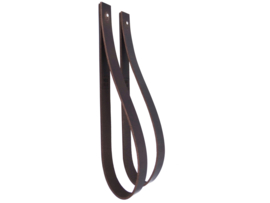 SLING ophanglus 3 cm - maat L - donkerbruin (2)