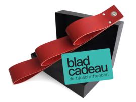 MAG & BLADCADEAU - rood - vanafprijs: