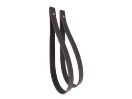 SLING ophanglus 2,5 cm - maat L - donkerbruin (2)