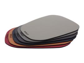 PEBL onderzetter kleurmix - set van 6