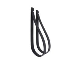 SLING ophanglus 2,5 cm - maat M - zwart (2)