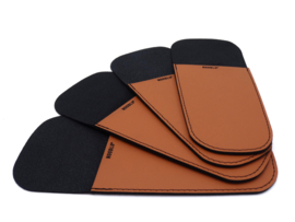 HOLSTER cognac - set van 4