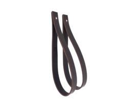 SLING ophanglus 2,5 cm - maat M - donkerbruin (2)