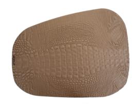 CROCO PAD onderlegger Large taupe
