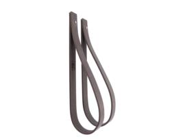 SLING ophanglus 2,5 cm - maat L - grijs (2)