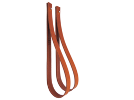 SLING ophanglus 3 cm - maat L - cognac (2)