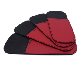 HOLSTER donkerrood - set van 4