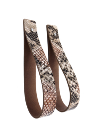 SLING 2,5 'limited edition' Snake bruin (2)