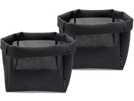 ZAQ XL - zwart - set van 2