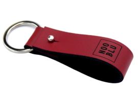 KEY SLING sleutelhanger rood/zwart