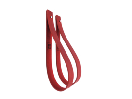 SLING ophanglus 3 cm - maat M - donkerrood (2)
