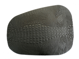 CROCO PAD onderlegger Large zwart