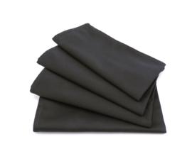 MANCHET & SATIN - zwart/zwart - 8-delige set