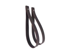 SLING ophanglus 3 cm- maat M - donkerbruin (2)