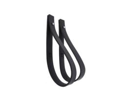 SLING ophanglus 2,5 cm - maat S - zwart (2)