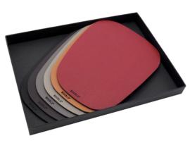 PEBL onderzetter giftbox - Multicolour set van 6