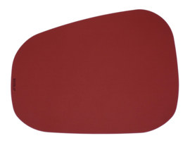PEBL placemat kingsize - Ruby