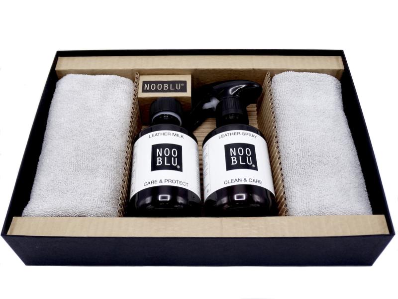 NOOBLU Premium Leathercare Giftset