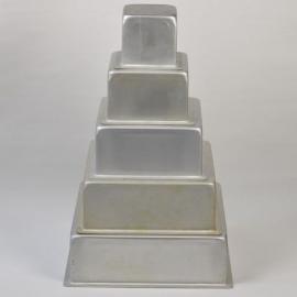 Bakvormset vierkant ( eventueel ook los te huur)     Vanaf