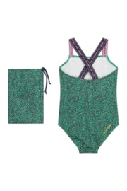 Quapi badpak Abkje jungle green leopard