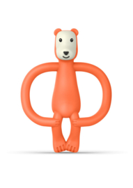 Matchstick bear teether bijtring oranje
