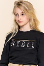 "Geisha - Meisjes sweater ""rebel"""