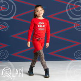 Quapi meisjes jurk lollipop red tamia 2