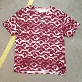 Red African Print T-Shirt