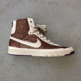 Nike Blazer Brown Snakeskin Size 40,5