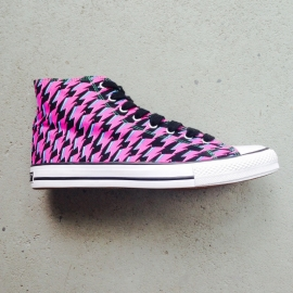 FIFTY24SF Graphic Pink Canvas High Size 42