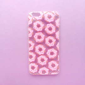Pink Donuts Phonecase