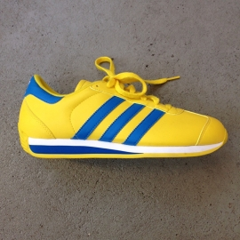 Adidas Country Sneakers Yellow/Blue