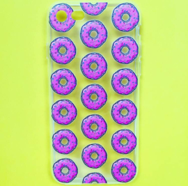 Pink Donut Phone Case